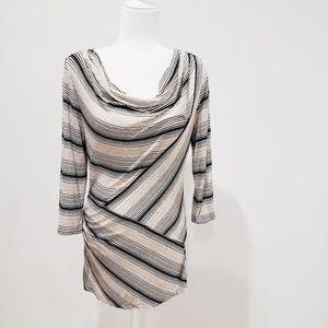 💜 Max Studio Striped Blouse